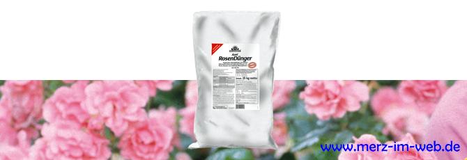 Azet RosenDünger 25 kg für Rosen, Stauden und einjährige Blütenpflanzen