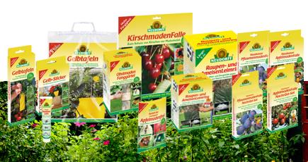 Insektenfallen von Neudorff für die umweltfreundliche Schädlingsbekämpfung im Garten.