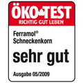Ökotest-Auszeichnung Sehr Gut für Schneckenkorn Ferramol
