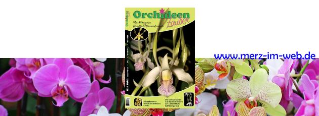 Orchideenzauber 2014 Heft 1, eine Zeitschrift nicht nur für Orchideenfreunde
