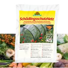 Das Neudorff SchädlingsschutzNetz schützt Gemüse vor Madenbefall und Raupenfraß.